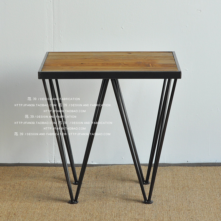 Small Coffee Tables Home Bargains: Value Bargain American Country To Do The Old Wood, Wrought