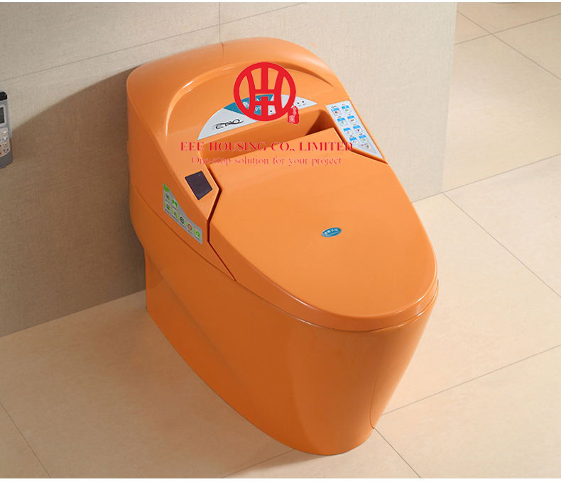 Commode Intelligent Toilet Smart Toilet WC Heated Toilet Seat Remote Control Intelligent Constant Temperature Drying Toilet