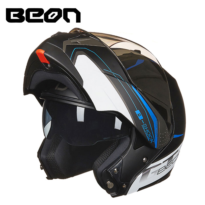 BEON casco modular moto motorcycle helmet Double Lens capacete motocross off road casque B700 beon vintage off road motocross feminino motorcycle half helmet head headgear casque capacete casco riding for harley helmets
