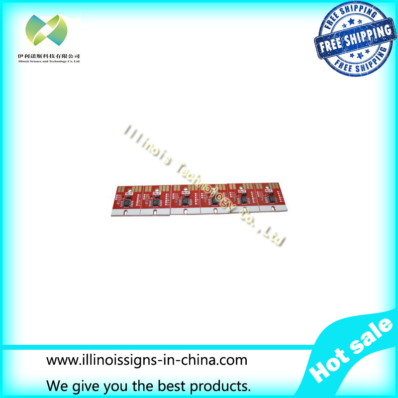 ФОТО Chip Permanent for Mimaki JV33 BS2 Cartridge 6 Colors CMYKLCLM