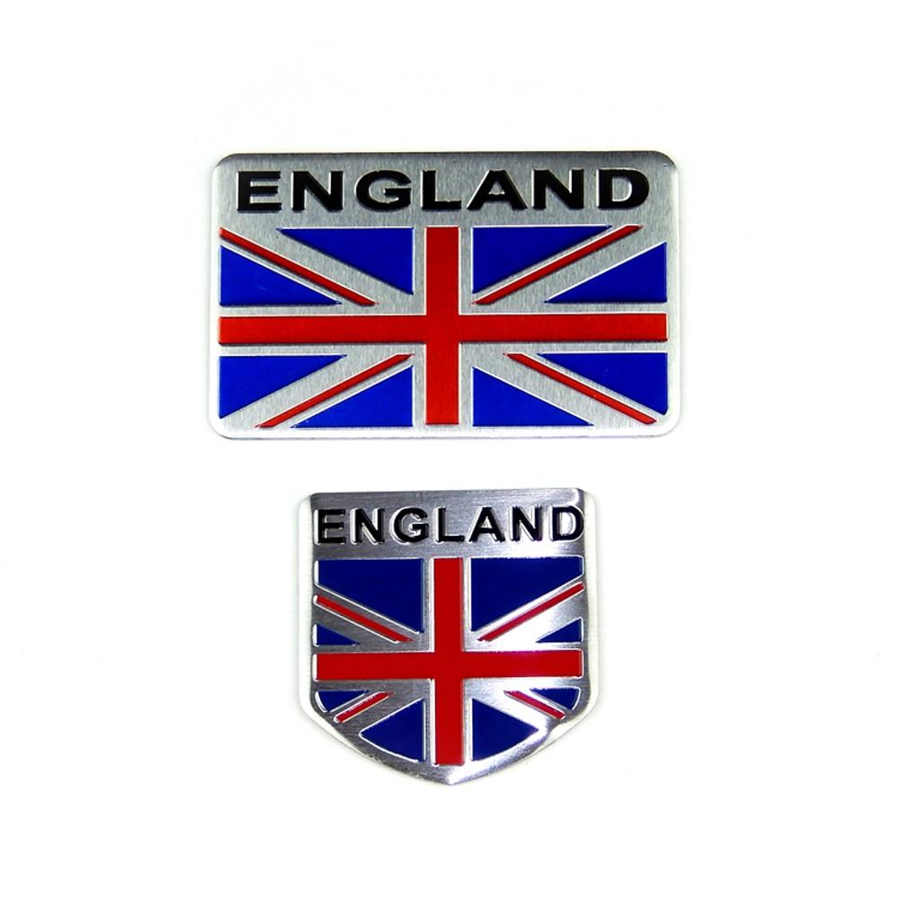 Anteke 3d Metal Auto Emblem England Uk Flag Car Body Badge Sticker