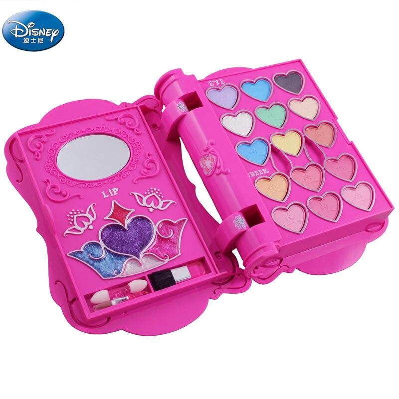 Disney filles cahier forme maquillage jouets cosmétiques neige blanche princesse maquillage coffret coffre-fort Non toxique fille jouet cadeau