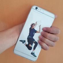 Чехол для iphone 7 плюс 5S 6 7 6 s se 6 s плюс баскетбол суперзвезда LaMelo Шар Прозрачный Кремния тпу случае заказ LaMelo 2