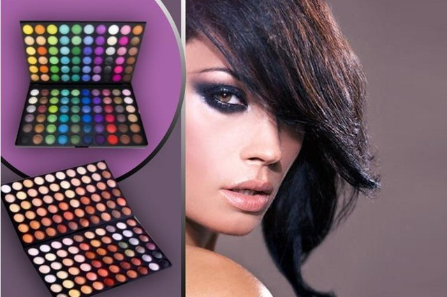 Hot sale New Arrival Eyeshadow Palette Kit 120 color Warm Neutral 2 layers Eye Shadows Palette Kit For beauty salon