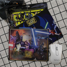 Babaite Vintage Cool Star Wars The Clone Wars  Office Mice Gamer Soft Mouse Pad Top Selling Wholesale Gaming Pad mouse babaite vintage cool one piece keyboard gaming mousepads top selling wholesale gaming pad mouse