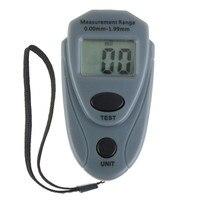 EM2271 Мини цифровой измеритель толщины краски для автомобиля измеритель толщины краски автоматический измеритель толщины покрытия руководс...