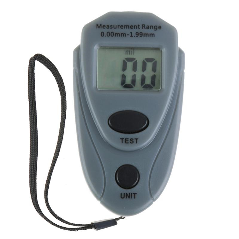 EM2271 Russland Englisch Manuelle Digitale Mini Auto Farbe Dicke Meter Farbe Dicke tester Auto Beschichtung Dicke Gauge