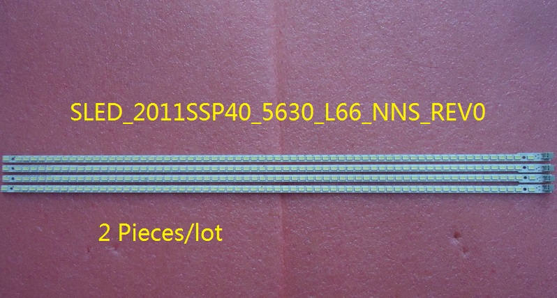 все цены на  A Pair SLED_2011SSP40_5630_L66_NNS_REV0 For Sharp LCD-40LX260A LED TV Backlight Strip 457mm 66 LED  онлайн