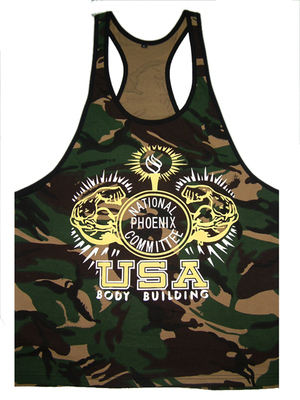 Golds GYM Tank Tops Mens VEST Fitnes Men Stringer Body Building TANK TOPS - AA TOP Clothes Co.,Ltd store