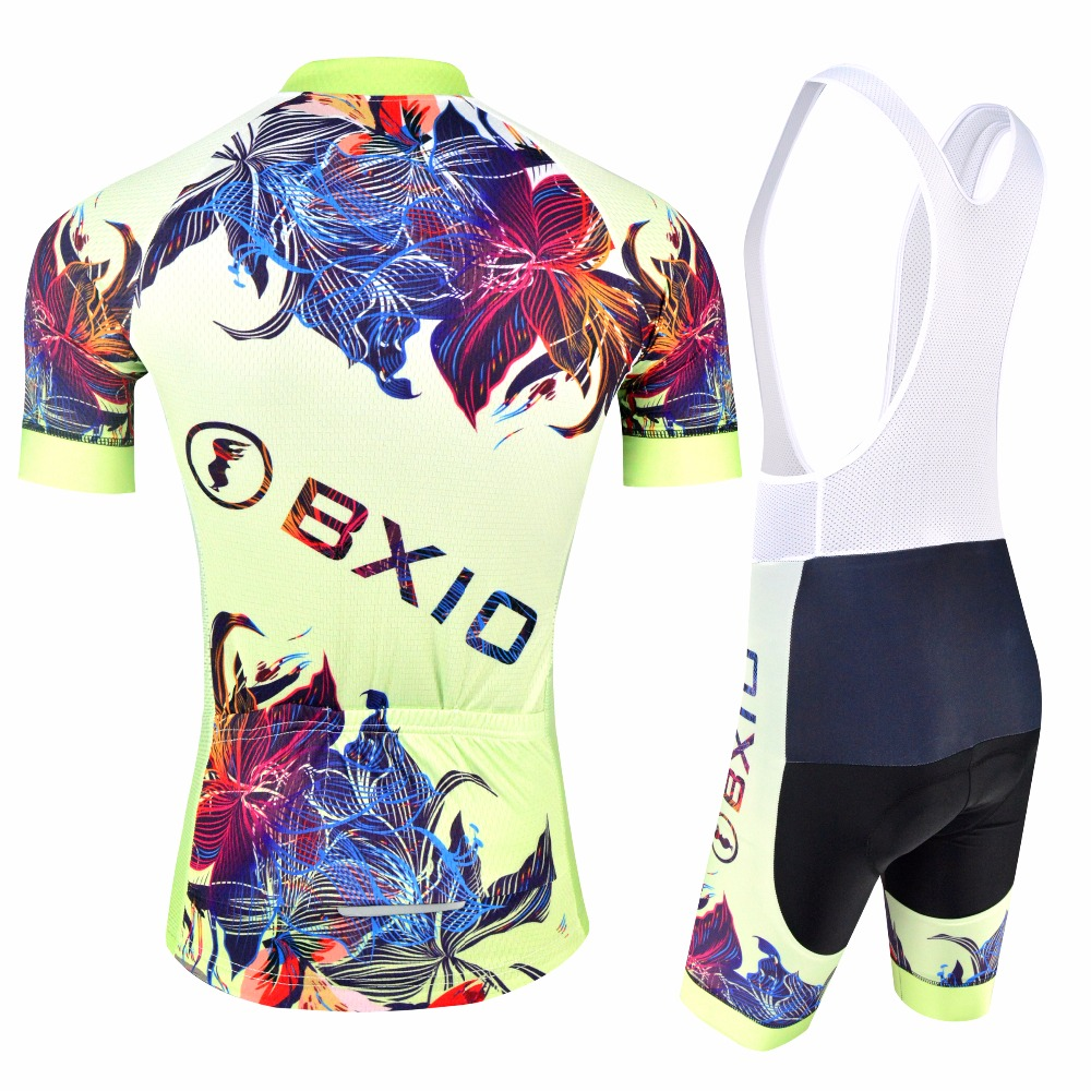 BXIO Women Cycling Clothing With Bib Shorts Pro Cycling Jersey Double Lycra  Flat Stitching For Cuff Of Sleeve And Shorts End 180-in Cycling Sets from  Sports ... 46edb5bab