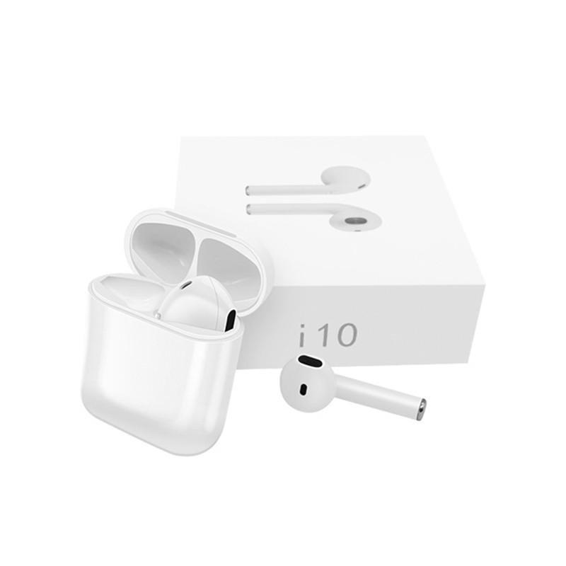 I10 I10tws Bluetooth Earbuds Wireless earphone Headset Stereo In Ear Earphones With Charging Box For Android Button ControlI10 I10tws Bluetooth Earbuds Wireless earphone Headset Stereo In Ear Earphones With Charging Box For Android Button Control
