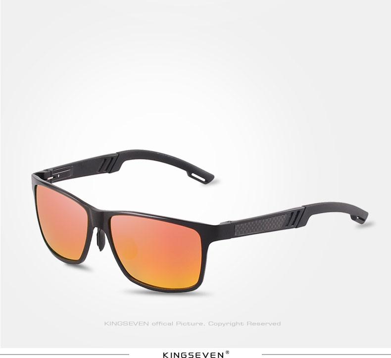 2017 New KINGSEVEN Polarized Sunglasses Men Brand Designer Male Vintage Sun Glasses Eyewear gafas oculos de sol masculino N7180 12