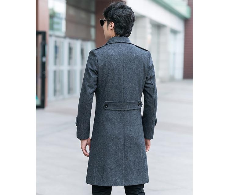 Aliexpress.com : Buy 2017 new arrival winter men 70%wool coat ...