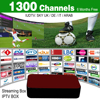 Better than Mag254 Mag250 Streaming IPTV Box 6 Months 1300+ Italy Spanish IPTV Channels Server Inside Streaming Media Player