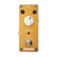 AROMA Tom'sline AMD-3 Metal Distortion MINI Guitar Effect Pedal Analogue Effect True Bypass