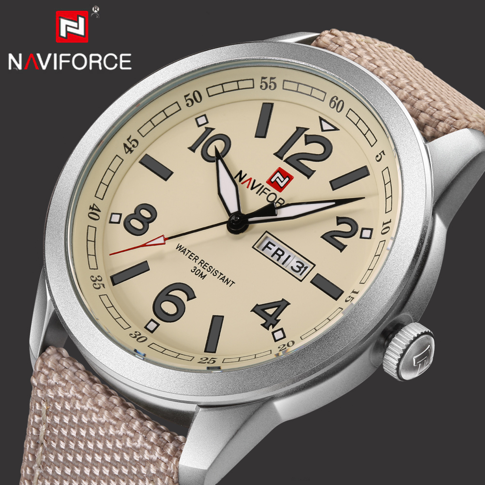 2017 Top Luxury Brand NAVIFORCE Men Sport Watches Mens Quartz Analog Clock Man Military Waterproof Wrist Watch relogio masculino top brand luxury watch men full stainless steel military sport watches waterproof quartz clock man wrist watch relogio masculino