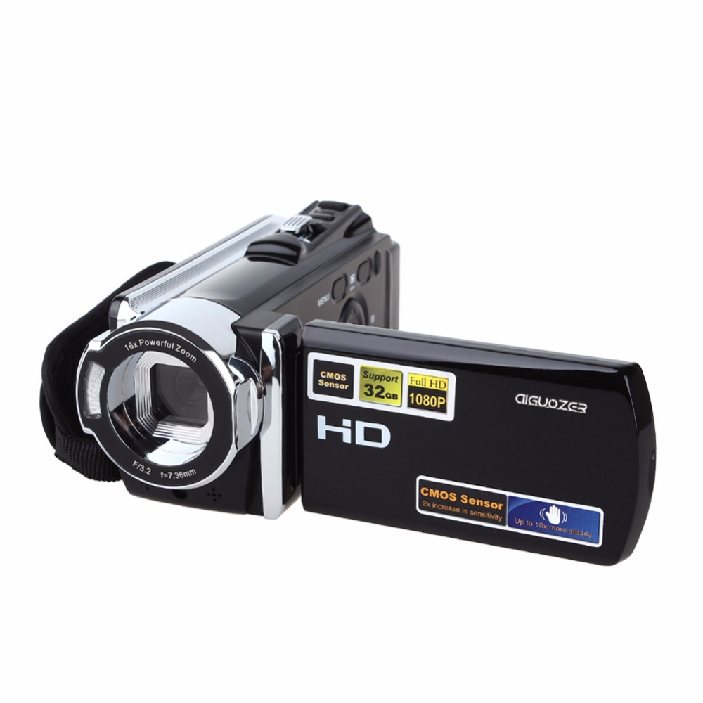 HDV-604P Digital Video Camera DV DVR Full HD 1080P 20MP Camcorder  3'' TFT LCD 16x ZOOM HDMI 5 0mp digital video camcorder w 4x digital zoom motion detection hdmi sd slot 2 5 tft lcd