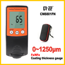 Film Coating Car Automotive Thickness Gauge Gage Thinner Paint Paintwork Varnish Meter Tester CM8801FN FN 2 in 1 1250um CM8801