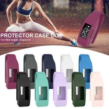 Newest Universal Steel Clip Protector Holder Silicone Protective Case For Fitbit Inspire HR