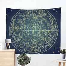 Sky Rocket Tapestry Wall Large Size Space Wall Hanging Psychedelic Beach Towel Pool Mat Sleeping Pad Tapestries Blanket Beach