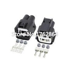 10PCS 3pin Automotive waterproof connector with terminal block DJ7032K-7.8-11