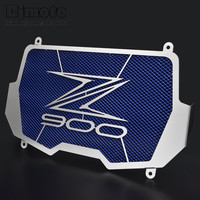 Bjmoto Free Shiping Stainless Steel Motorcycle Radiator Guard Radiator Cover For Kawasaki Z900 2017