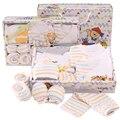 Горячие продажи нового стиля 10 шт. новорожденных детская одежда подарочный набор 100 хлопок милый ребенок одежда бесплатная доставка