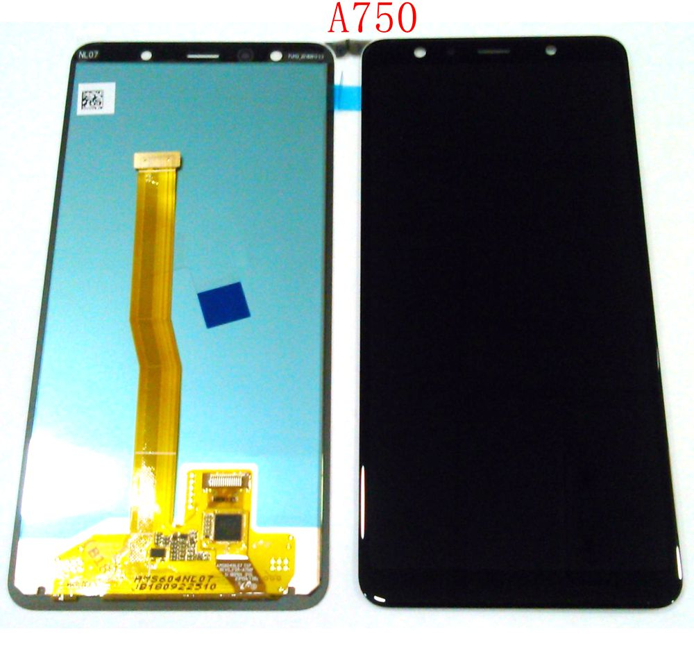 Super Amoled For Samsung Galaxy A7 2018 A750F/DS A750FN/DS A750G Lcd screen Display+Touch Glass Digitizer AssemblySuper Amoled For Samsung Galaxy A7 2018 A750F/DS A750FN/DS A750G Lcd screen Display+Touch Glass Digitizer Assembly