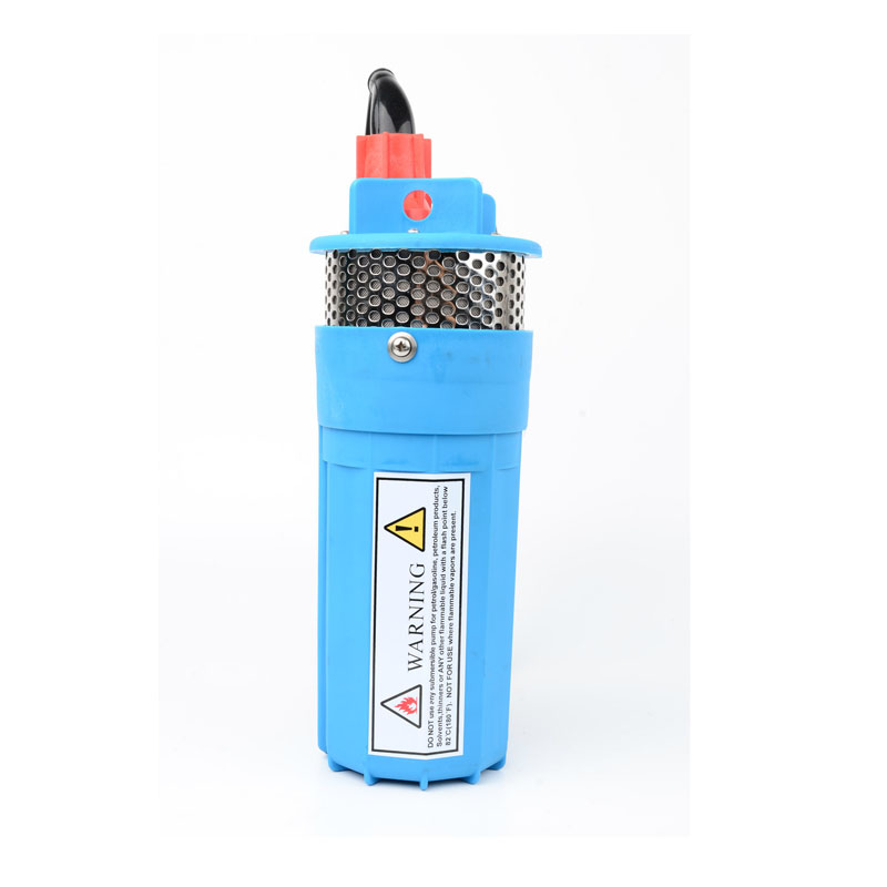 DC12V Brushless Solar Deep Well Submersible Water Pump 230W Screw Pump,SS304