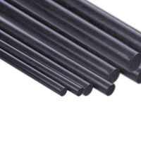 5 uds varilla de Fibra de carbono diámetro 1mm 2mm 3mm 4mm 5mm 6mm 7mm 8mm 10mm 11mm 12mm de longitud 500mm 3 Fibra de carbono