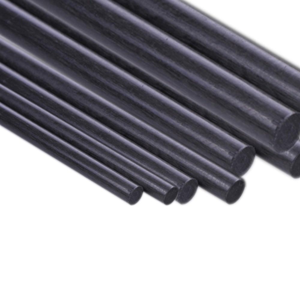 1pcs въглеродни влакна пръчки Dia 1mm 2mm 3mm - Радиоуправляеми играчки - Снимка 1