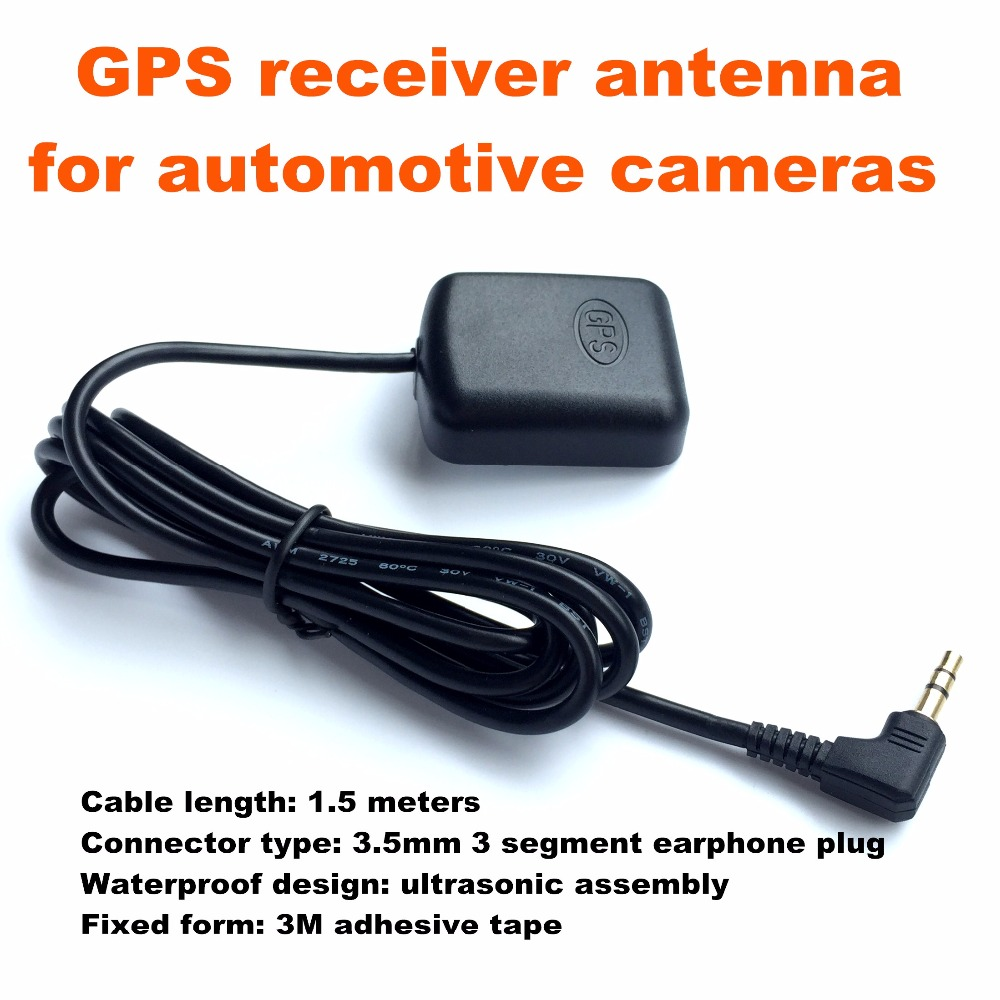 NEW 3.5 GPS receiver antenna Module for Car DVR GPS Log Recording Tracking Antenna Accessory for A118 for A118C Car Dash Camera car gps antenna gps receiver car dvd gps antenna with 3 5mm sma smb mcx mmcx bnc tnc fakra connector for mfd2 rns2 or other