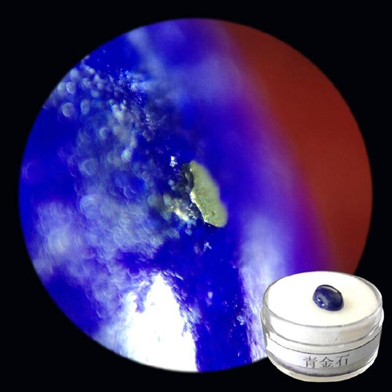 50x teljes méretű fém hordozható zsebnagyító kompakt, kék - Mérőműszerek - Fénykép 6