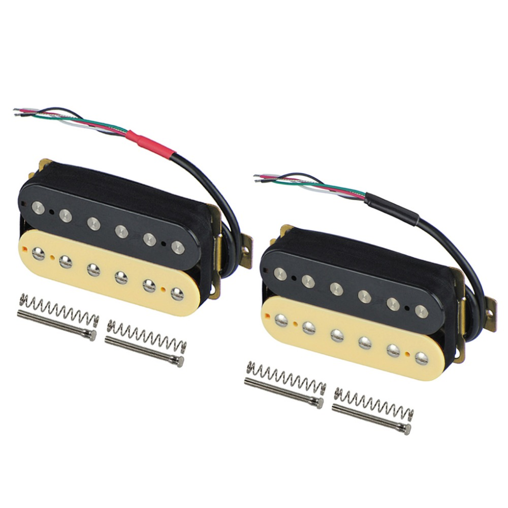 buy new set of electric guitar double coil humbucker pickups neck bridge. Black Bedroom Furniture Sets. Home Design Ideas
