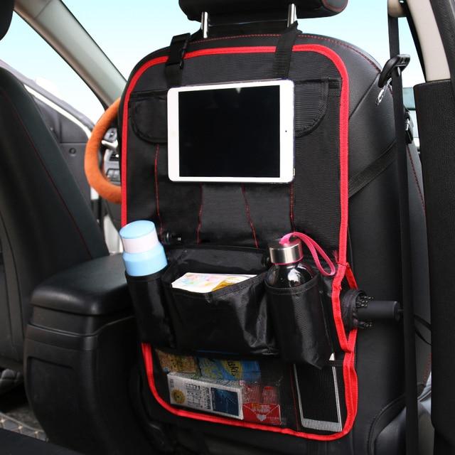 Car Seat Back Bag Organizer Holder Multi-Pocket Travel Storage Hanging Bag Baby Kids Diaper Car Seat Hanging Bag