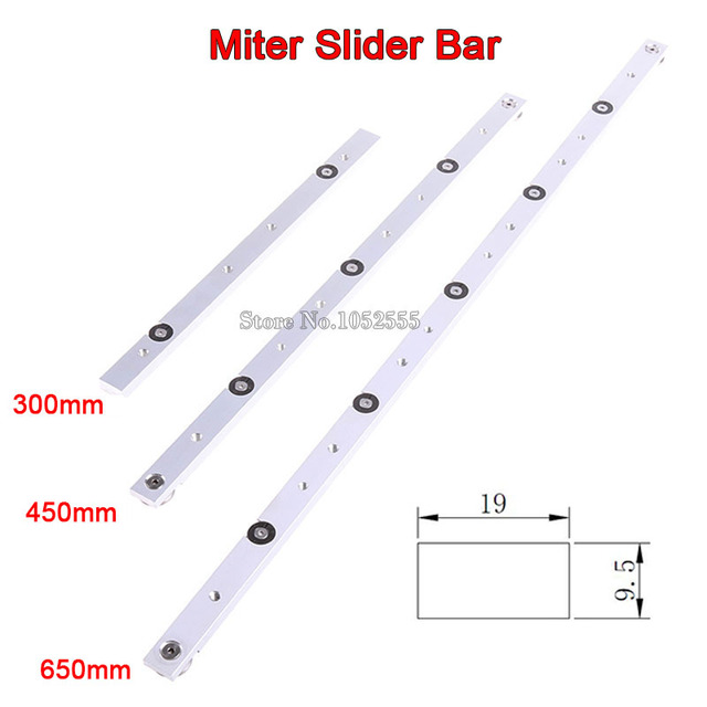 Lovely High Quality 4PCS/lot Aluminium Alloy Miter Bar Miter Slider Table Saw Miter  Gauge Rod