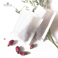 Hot sale! Now Discount! 1000pcs/lot Heat sealing tea bag 70 X 90mm empty tea bag, filter paper, clean filter bag(China)