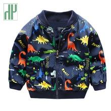 hot deal buy children baby boy jacket cute dinosaur kids coats spring autumn windbreaker girl jackets girls outerwear coats 2 3 4 7 years old