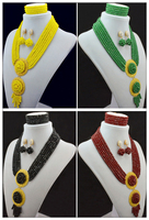 2016 NEW Nigerian Wedding African Beads Rushed Classic Women Crystal Jewelry Sets New Arrived Nigeria Set
