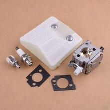 Carburateur Luchtfilter Repower Rebuild Reparatie Kit Vervanging Fit Husqvarna 61 66 181 266 281 288 501807105 503280401