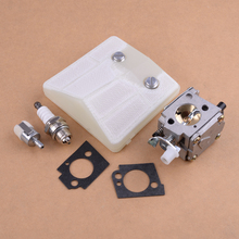 Carburetor Air Filter Repower Rebuild Repair Kit Replacement fit Husqvarna 61 66 181 266 281 288 501807105 503280401