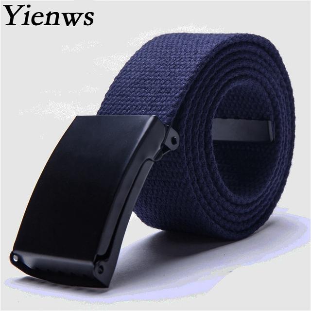 Yienws Western Cowboy Belt For Girl Kemer Boy Belt Strap For Jeans Canvas Belt Outdoor YB003
