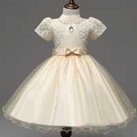 Kids Party Dress For Girls Lace Kids Clothes Saloon Princess Costume Teenage Girls Clothing Toddler Girl