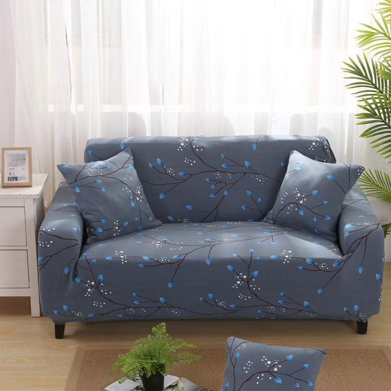 Sofa Covers Elastic Spandex Printed Slipcovers Cheap Stretch Furniture Protector