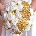 2017 новый горячий кристалл Свадебный Букет Брошь букет свадебные аксессуары Невесты искусственный Свадебные цветы Свадебные Букеты