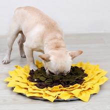 DogLemi Dog Training Blanket Pet Snuffle Mat Washable Dogs IQ Pressure Releasing Nose Work Toy