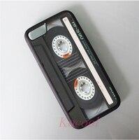 Classic Retro Cassette Tape Case Cover For Iphone 4 4S 5 5S 5C SE 6 6