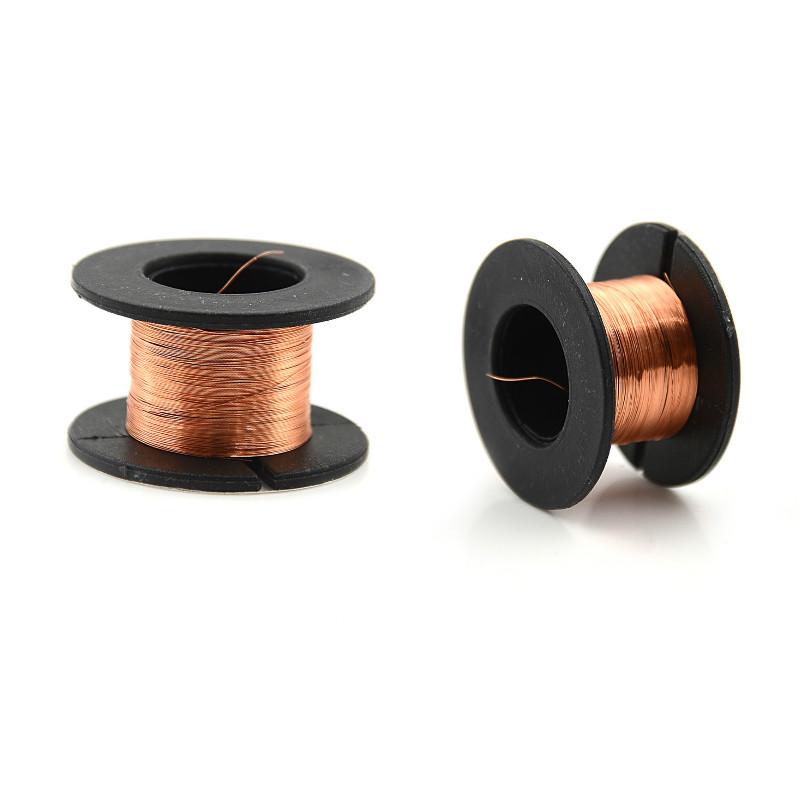 2Pcs 10m Magnet Wire 0.1mm Enameled Copper Wire Magnetic Coil Winding For Making Electromagnet Motor Model Fio De Cobre