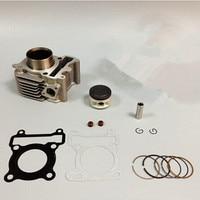 LOPOR 49mm For Yamaha ZY100 RSZ JOG 100CC Motorcycle Air Cooled Cylinder KIT & Piston Set & Gasket All Sets