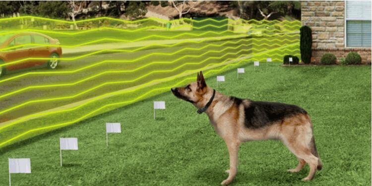 Новое поступление сдерживатель для домашних животных Системы подземный электронная Перезаряжаемые Водонепроницаемый собака забор для собак